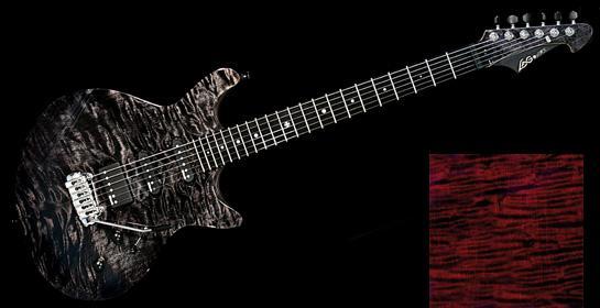 la plus belle guitare electrique du monde